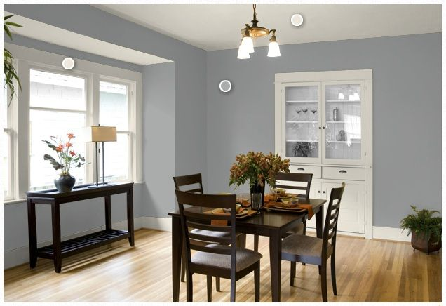 Virginia and Charlie: Dining Room Update. Flagstone Olympic paint