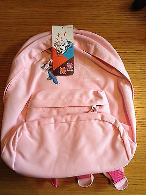 New #london 2012 #girls' #mascot pink back pack,  View more on the LINK: http://www.zeppy.io/product/gb/2/262728689622/