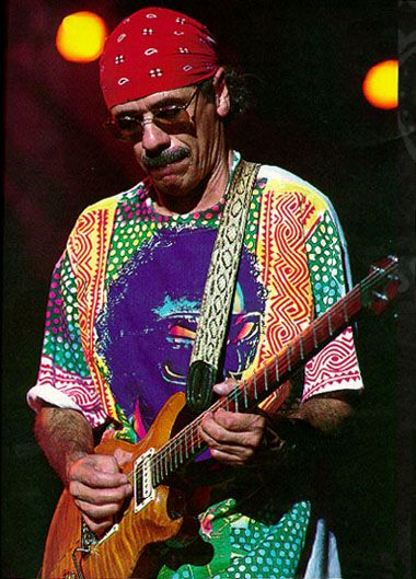 Carlos Santana!  Amazing music you can't stop moving!