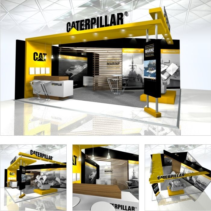Exhibition Stand Design Nottingham : Caterpillar stand design pinterest exhibitions