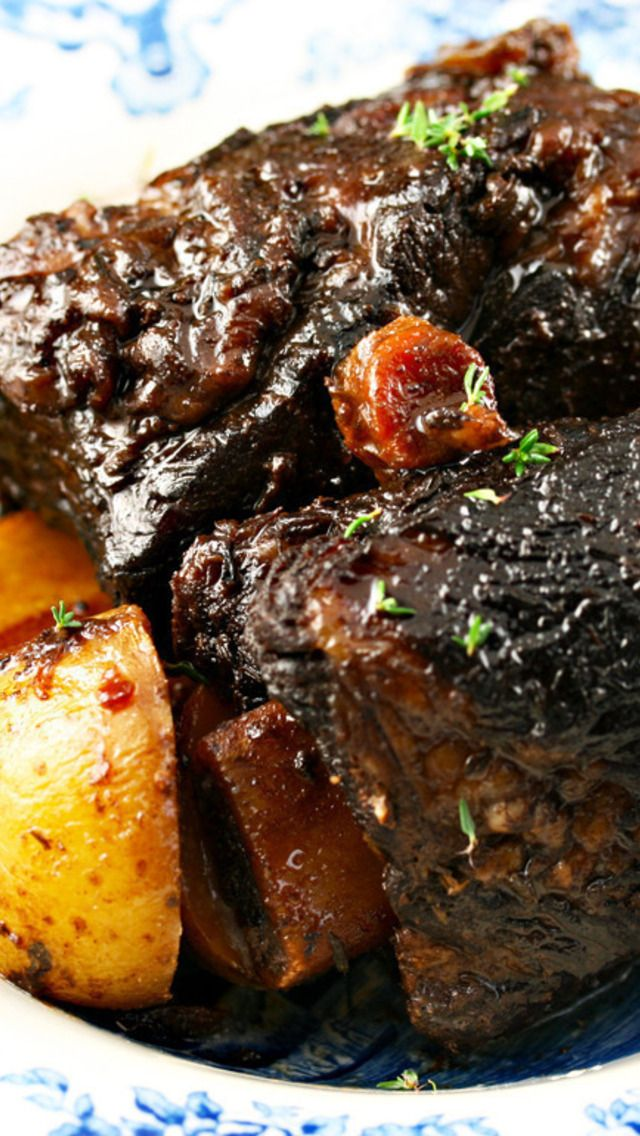 how to cook braised beef in the oven