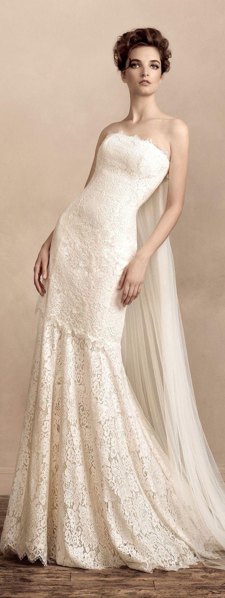 63 besten Wedding Dresses: Mermaid Style Bilder auf Pinterest | boho ...