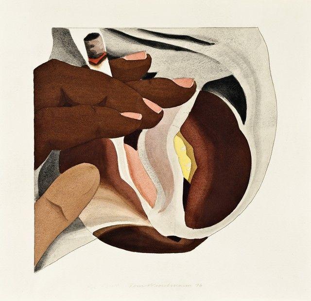 Tom Wesselmann, 'Smoker Study / for Smoker # 24,' 1976, Galerie Thomas