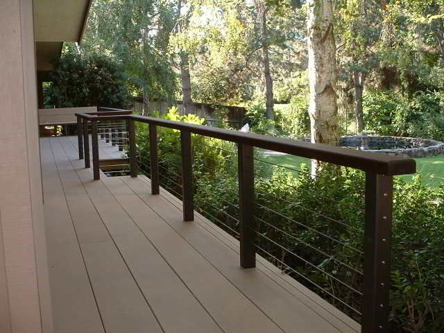 Deck Cable Railing - The Cable Connection