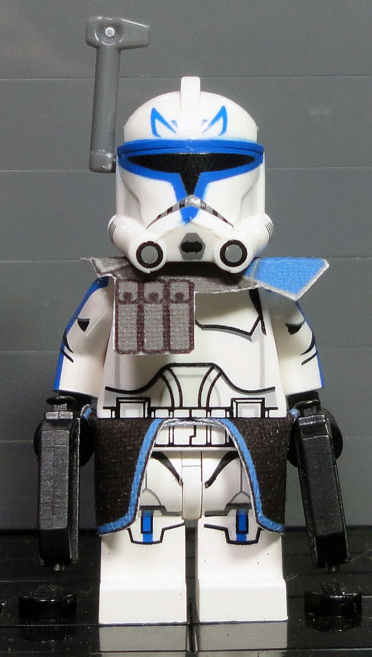 clone army customs p2 captain rex lego star wars customs pinterest lego lego star wars. Black Bedroom Furniture Sets. Home Design Ideas