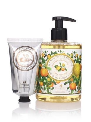 49% OFF Panier des Sens Soothing Oils from Provence Liquid Soap & Hand Cream, Set of 2