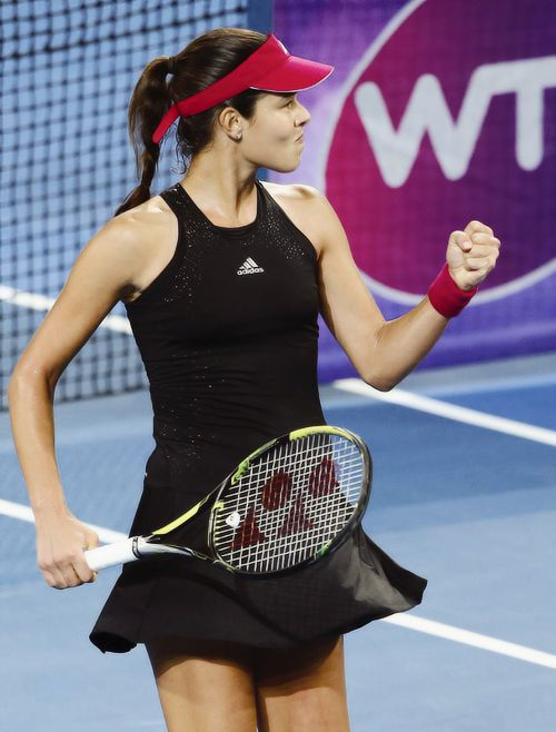 Ana Ivanovic playing in Brisbane 2015 #WTA #Ivanovic #Brisbane