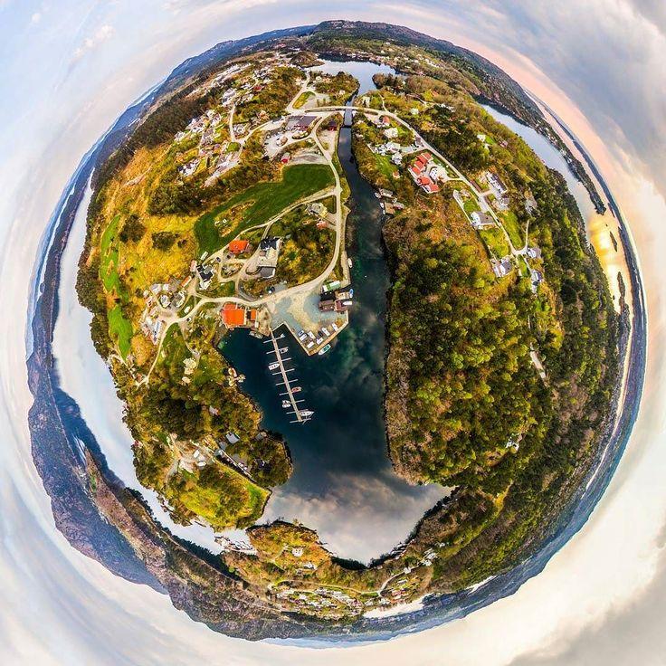 #kulleseidkanalengjestehavn #littleplanet  #bømlo #norway #aerialphotography #djiphantom3pro #drone by seile80