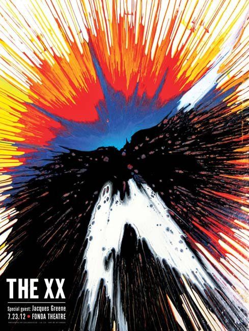 XX, The - Fonda Theater LA Gig Poster