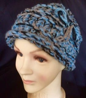 Cute multi color hat. by Linaslikables on Etsy