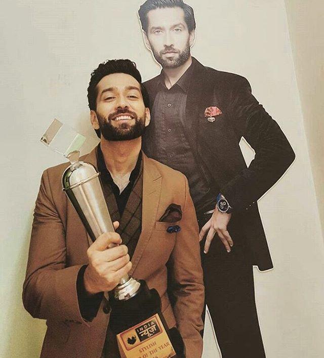 Congratulations yayyyyy #mostsstylishactorawards #tellywood #bollywood #instagram #NakuulMehta #shivaay #ShivaayOberoi #ishqbaaz #ishqbaaaz #ishqbaaaz #starplus #Congo #best #stylish #handsome #Actor #awards ❤❤