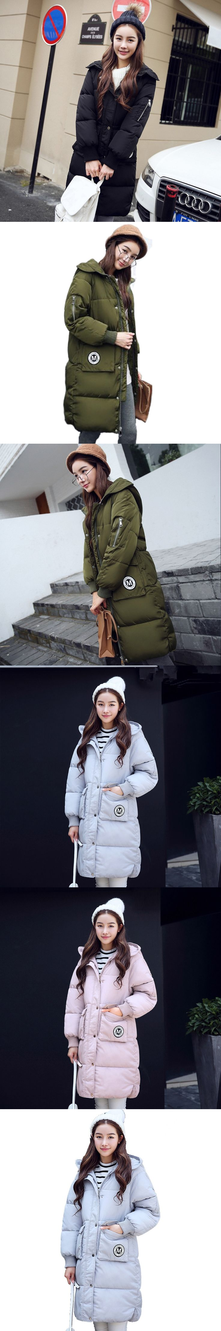 Military Jackets Thick Winter Jacket Women Long Coat Parka Hooded Chaquetas Mujer Wadded Cotton Winter Coat Parkas Outwear C3452