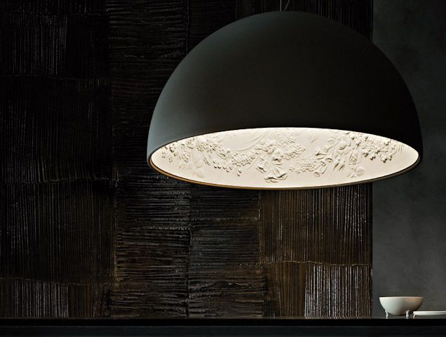 Mooie #hanglamp! Skygarden 2007 - Marcel Wanders - merk: Flos zowel #klassiek, als #industrieel (met knipoog)