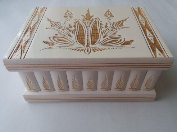 New big huge white wooden puzzle box secret treasure adventure mystery magic box jewelry storage wooden case beautiful handcarved box gift