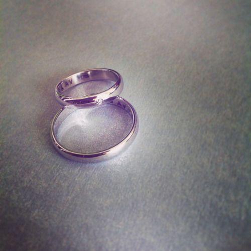 Wedding Rings - White 14kt Gold & Diamond