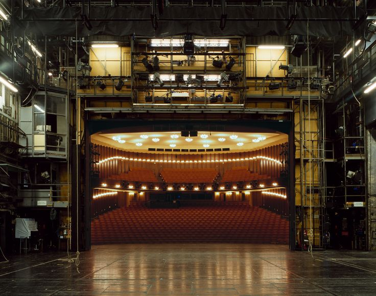 Famous theaters photographed from the stage looking out - Album on Imgur