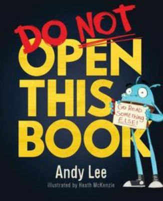 Cover image for Do not open this book