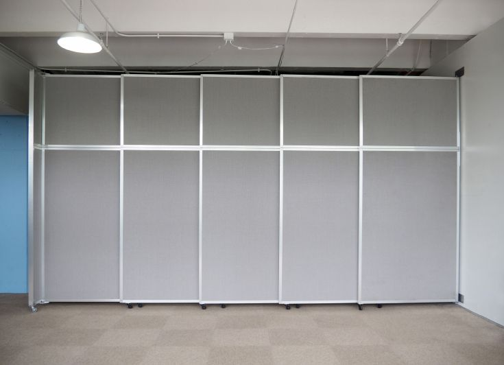 Versare's extra large room divider is an affordable alternative to  accordion doors, which require professional - 31 Best Operable Walls & Wall-Mount Dividers Images On Pinterest