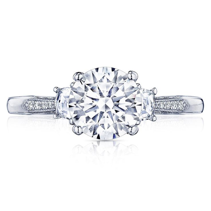 Tacori 2659RD75 18 Karat Simply Tacori Engagement Ring Priced at around $3,890