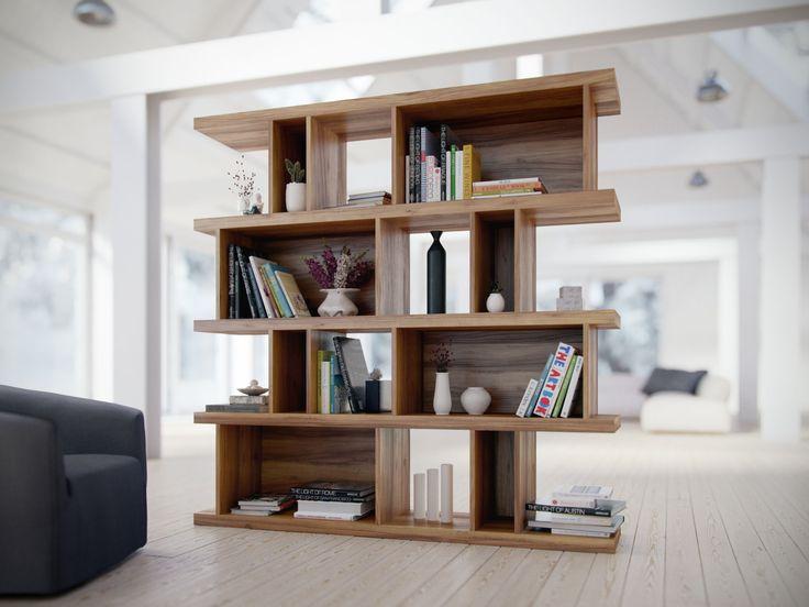 Elias Bookshelf | Mid-Century Modern | Kure Collection