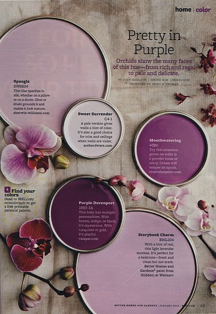Pretty Shades of Purple
