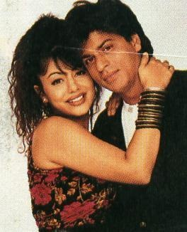 Gauri and Shahrukh Khan