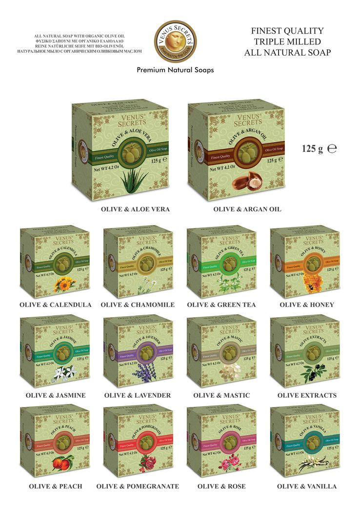 Square Olive Oil Soap 125gr ________Code: 520756-769