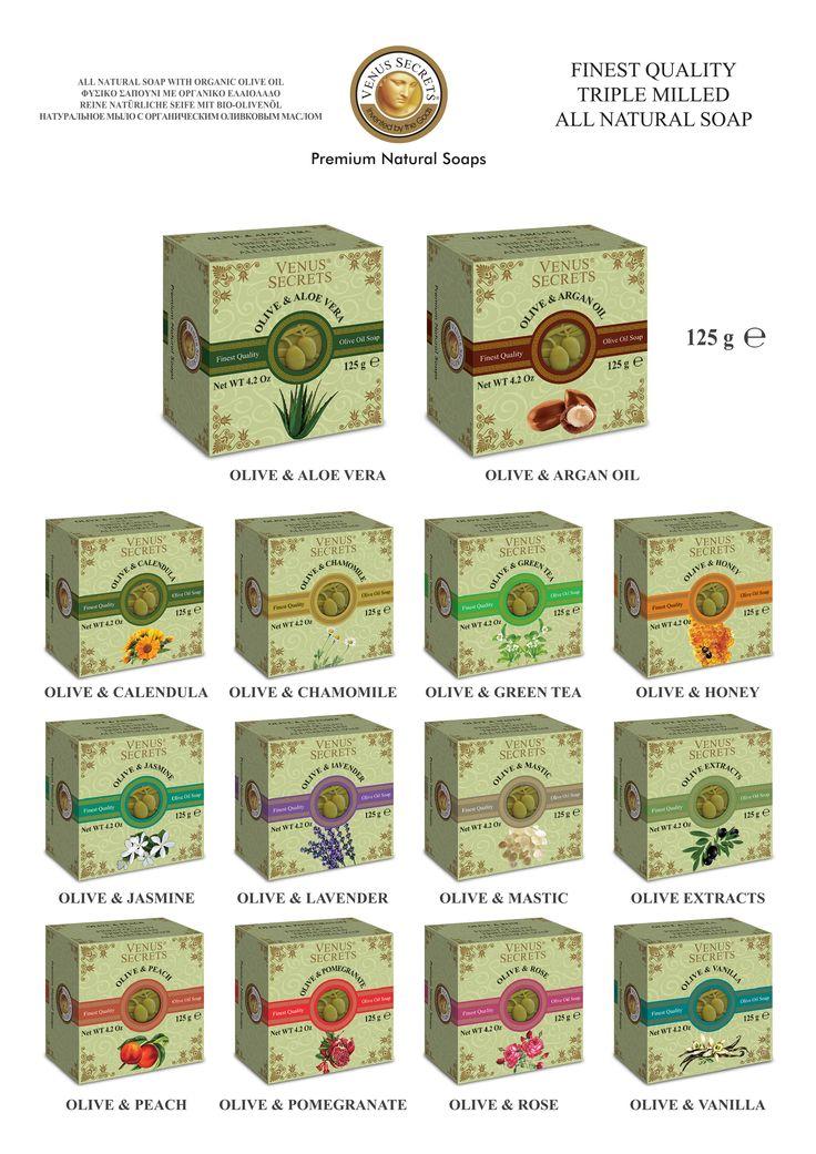 Square Olive Oil Soap 125gr ________Code: 520756-769