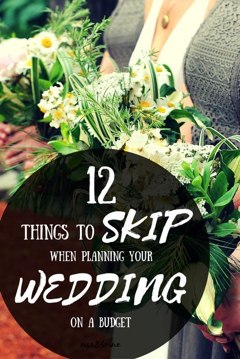 Budget Wedding Planning 101: What To Skip (and where not to skimp!) – weds