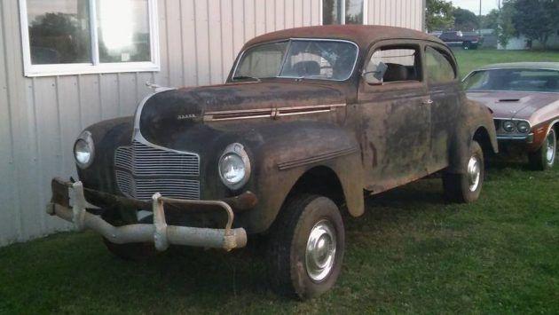 Keeping It In The Family: 1940 Dodge Sedan 4x4 #Oddballs #Dodge - https://barnfinds.com/keeping-family-1940-dodge-sedan-4x4/