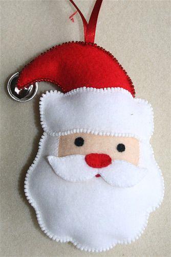 Felt Decoration Santa