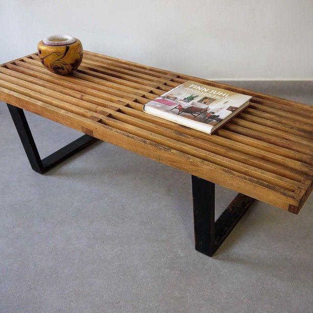 1950s George Nelson Platform Bench for Herman Miller