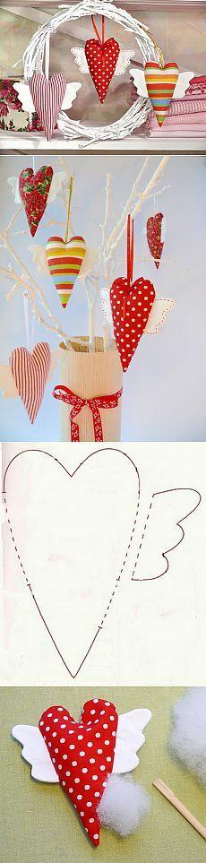 Сердечки ко Дню святого Валентина   Домоводство для всей семьи