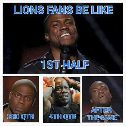 Detroit Lions. Over, and over, and over again