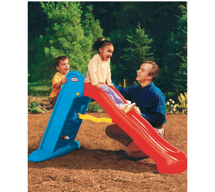 Little Tikes Easy Storage Large Slide- Primary