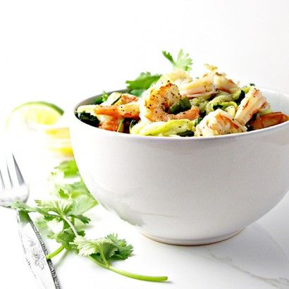 Cilantro Lime Shrimp Zoodle Bowl   Tasty Kitchen: A Happy Recipe Community!