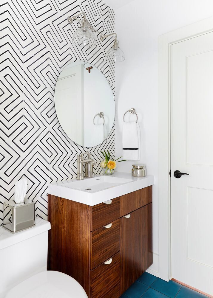 view bathroom ideas%0A This LightFilled Austin Home Has the Most Gorgeous Kitchen  Contemporary Bathroom  DesignsVignette