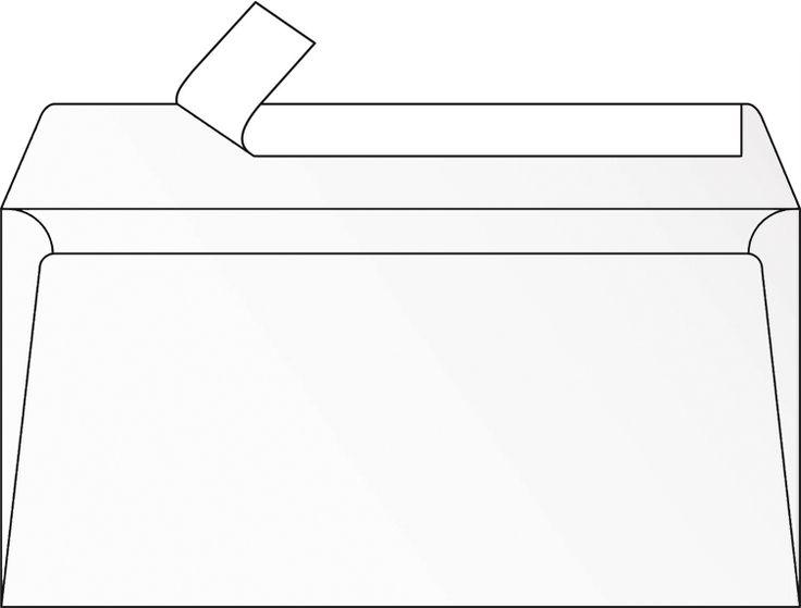 Enveloppe blanche DL Pollen Clairefontaine 120 gr 5 unités #enveloppeblanche #enveloppecouleur #enveloppepollen #enveloppefairepart