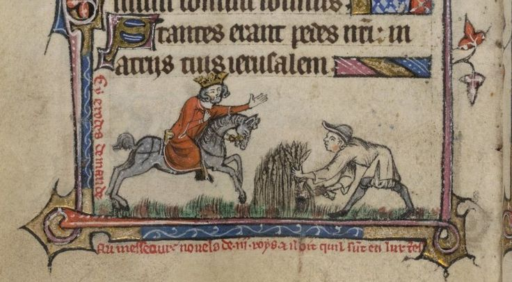 Peasant Society as Revealed by a Thirteenth-Century Manorial Extent - Medievalists.net