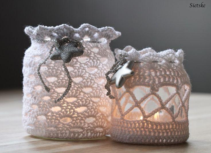Sietske's Hobby's: Sfeerlichtjes met patroon