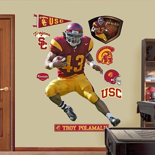 Troy Polamalu, USC Trojans
