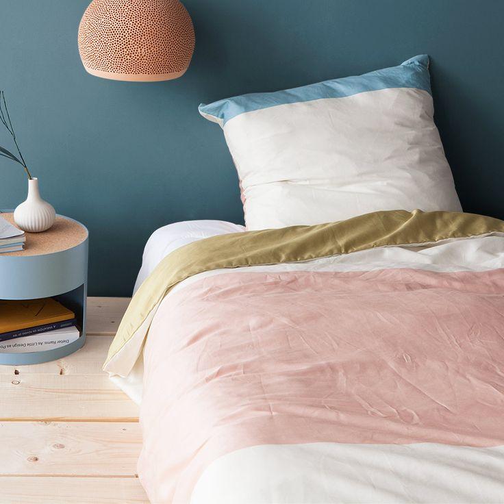 Zeitgemäße Bettwäsche aus Baumwolle