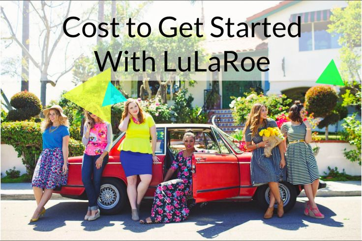 LuLaRoe: Cost to Get Started