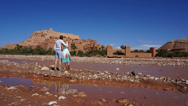Perfect view in Ait Benhaddou, Marocco