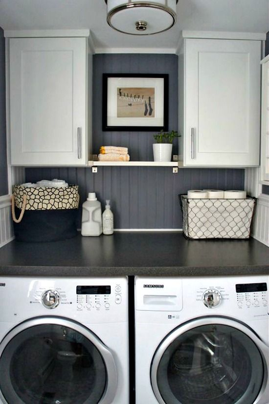 21 Rosemary Lane: Small Laundry Room Ideas