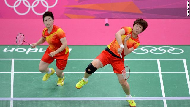 Olympic badminton players disqualified for trying to lose