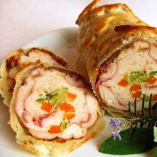 Cucinare che Passione: Arrosto di tacchino ripieno in crosta