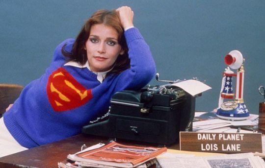 Margot Kidder in Superman (1978) Richard Donner