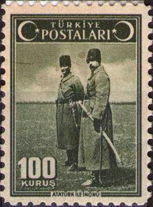 ATATÜRK İLE İNÖNÜ 1943 (100 KURUŞ)