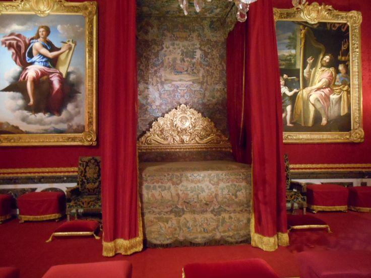 Chambre d'apparat de Louis XIV